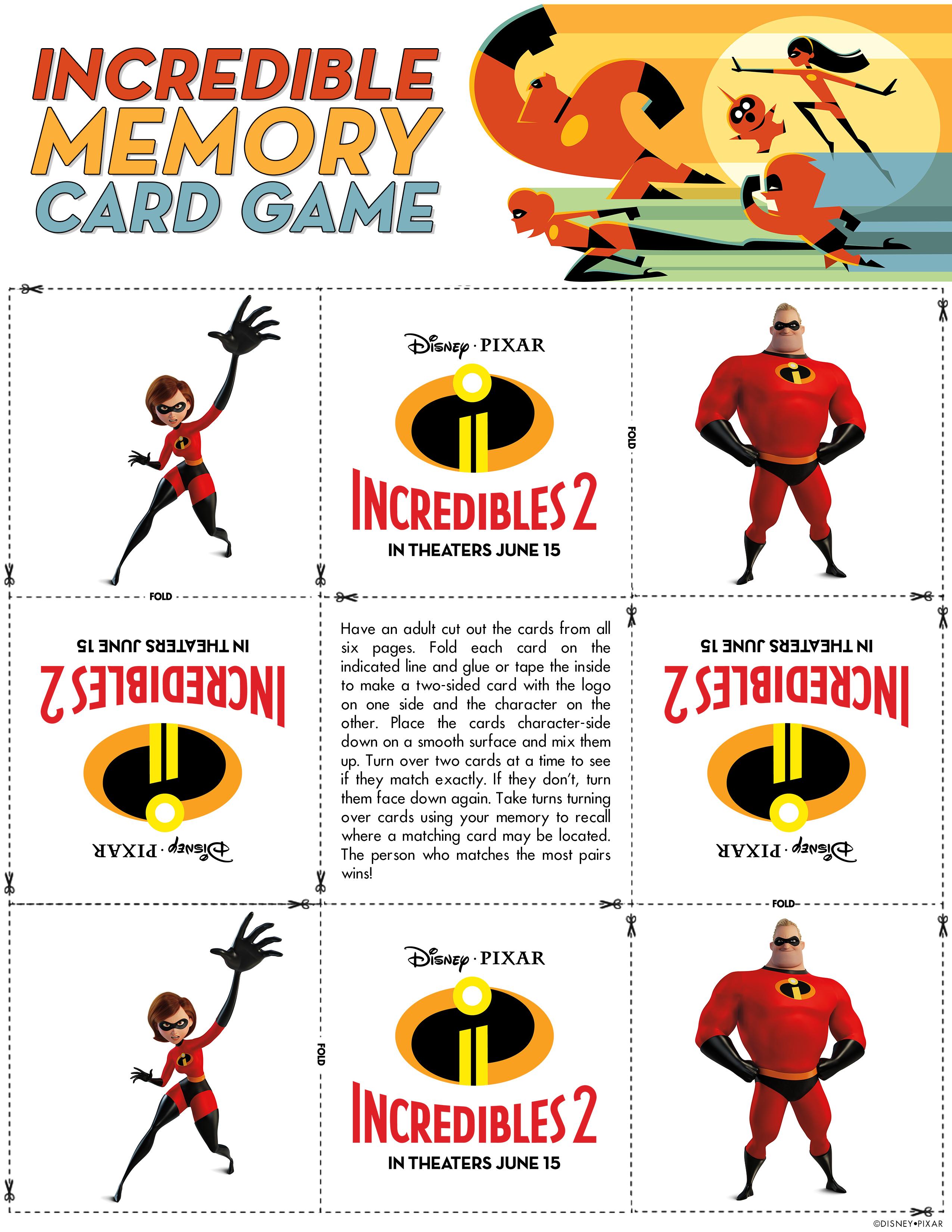 Incredible Memory Card Game