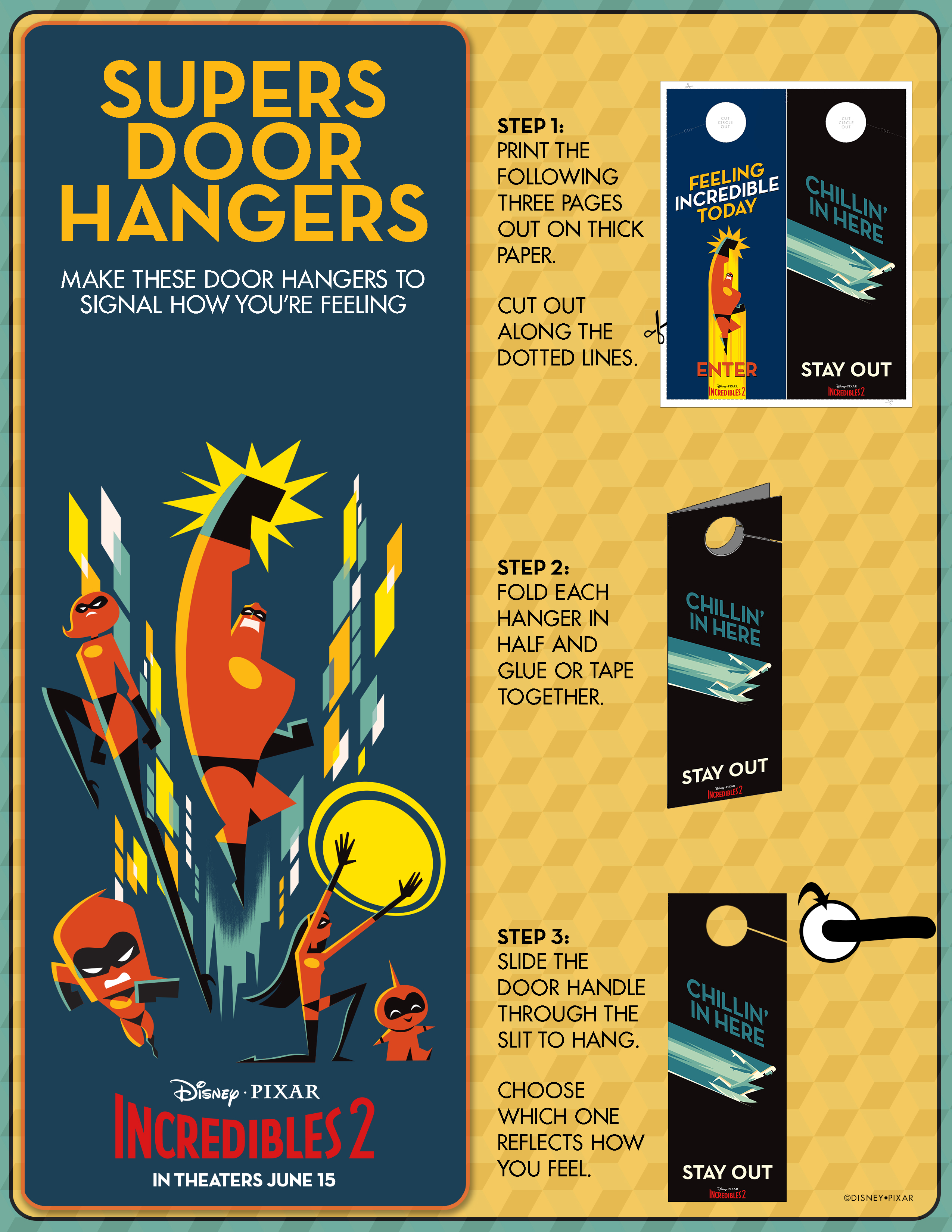 Supers Door Hangers