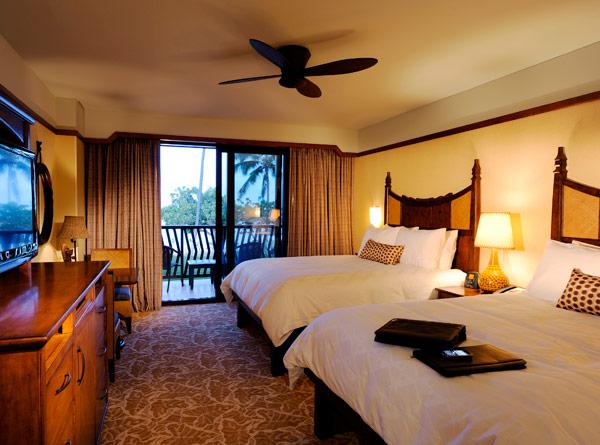 Aulani Resort Lobby Standard Room Amenities