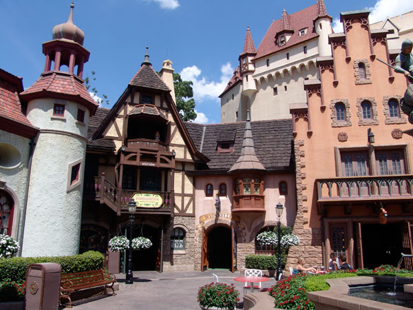 Germany Pavillion at epcot shopping