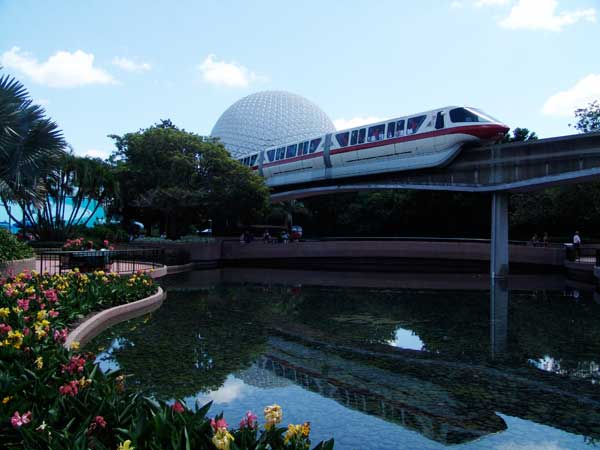 Walt Disney World Monorail - Disney Transportation Information