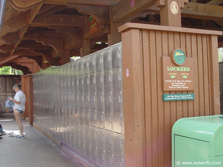 Disney S Blizzard Beach Water Park Photos Lockers Dsc00088