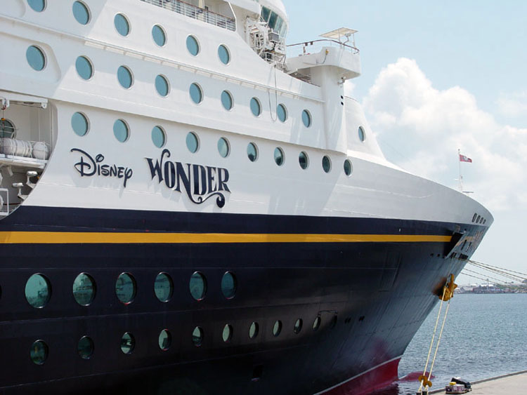 Disney Wonder to sail out of Port of Los Angeles in 2011