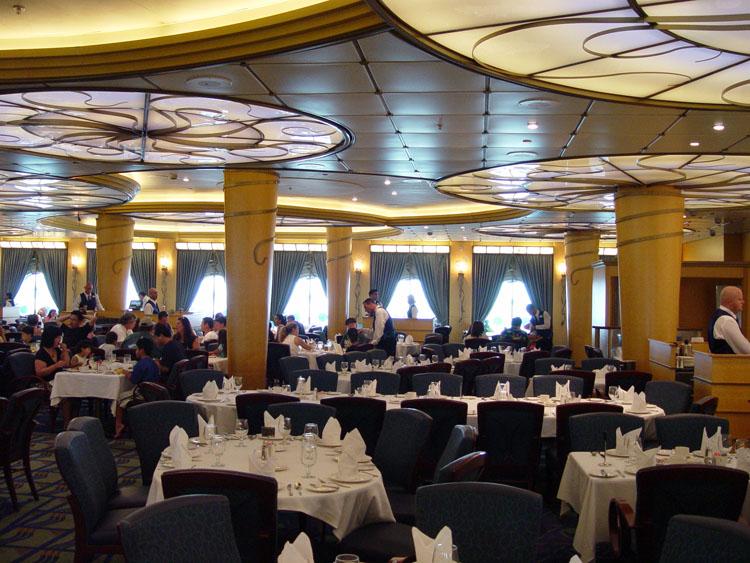 Disney cruise line photos dining tritons 14