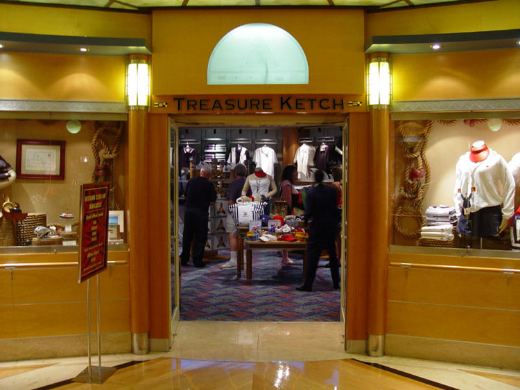 Disney cruise line photos shopping treasure ketch 00