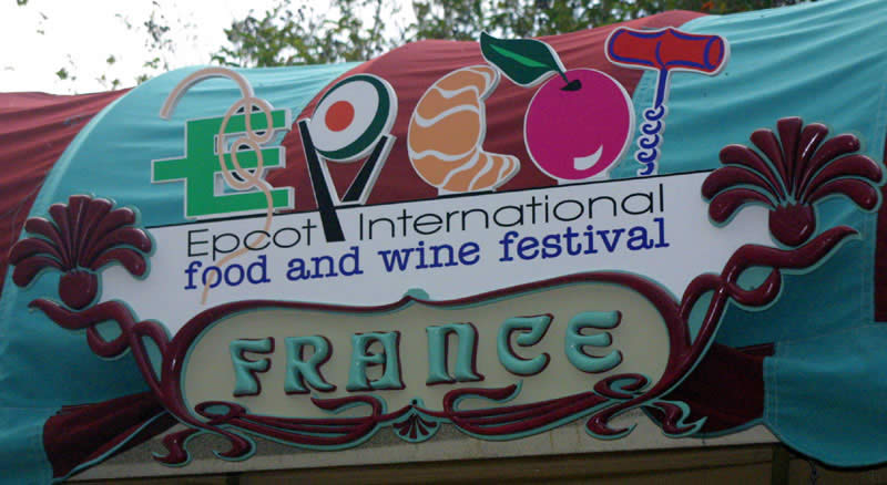 Food And Wine Festival Menus