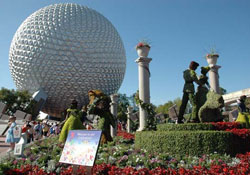 Epcot's International Flower & Garden Festival 	 Epcot's International Flower & Garden Festival