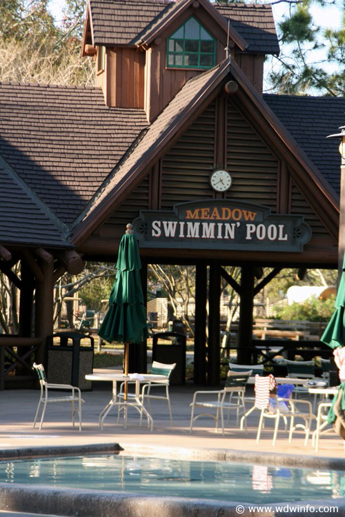 Fort Wilderness Resort Campground Photos Meadow Swimming Pool