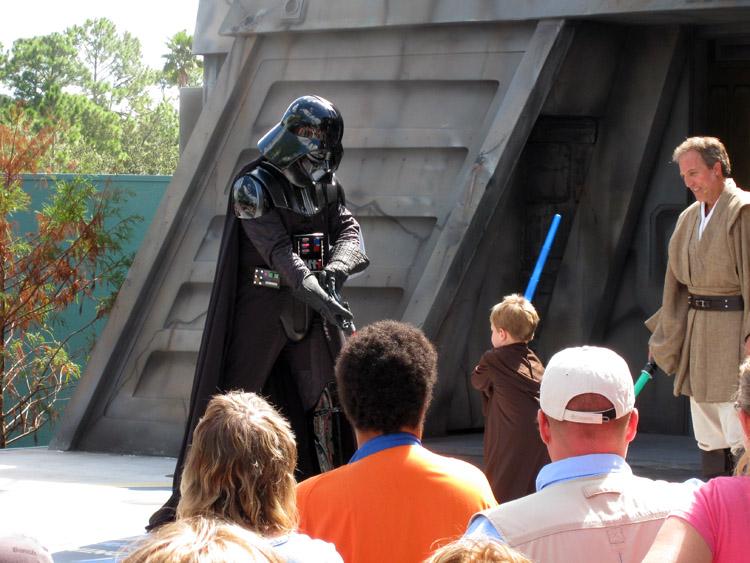 Jedi Training Academy at Disney's MGM Studios