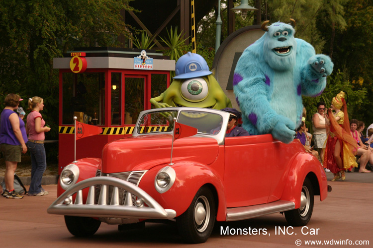 25 Monsters Inc Car