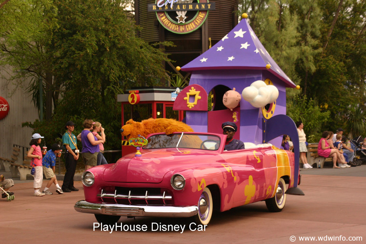 44 Playhouse Disney Car