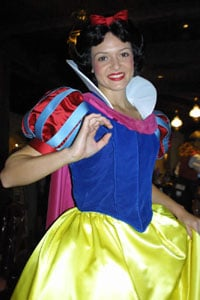 Tea With Disney Princesses At Disneyland