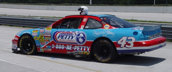 Richard Petty Driving Experience Oralndo Disney World