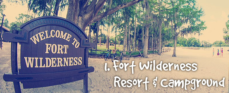 Exploring Fort Wilderness