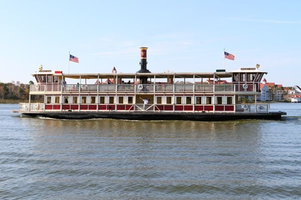 Ferry Boat to the Magic Kingdom