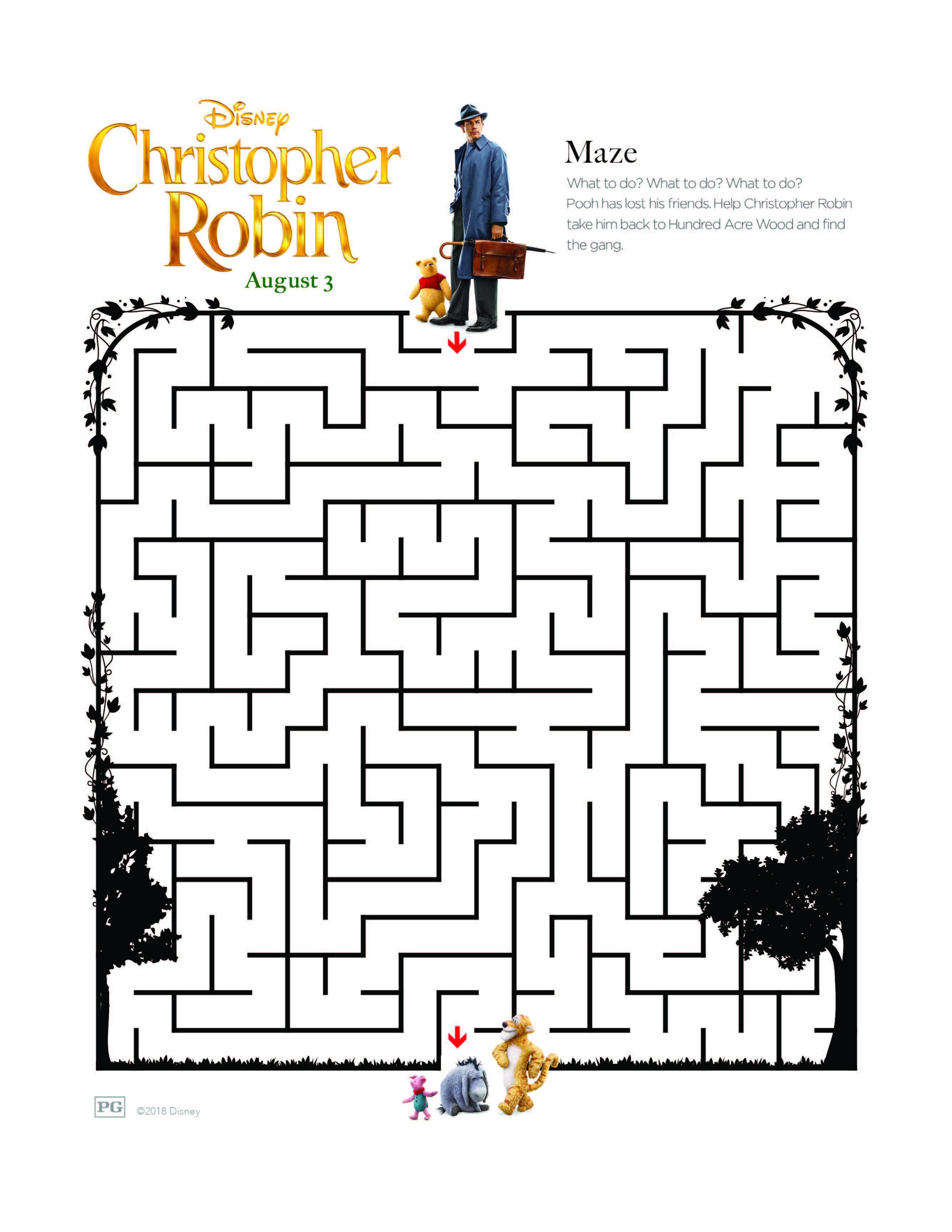 Christopher Robin Maze2
