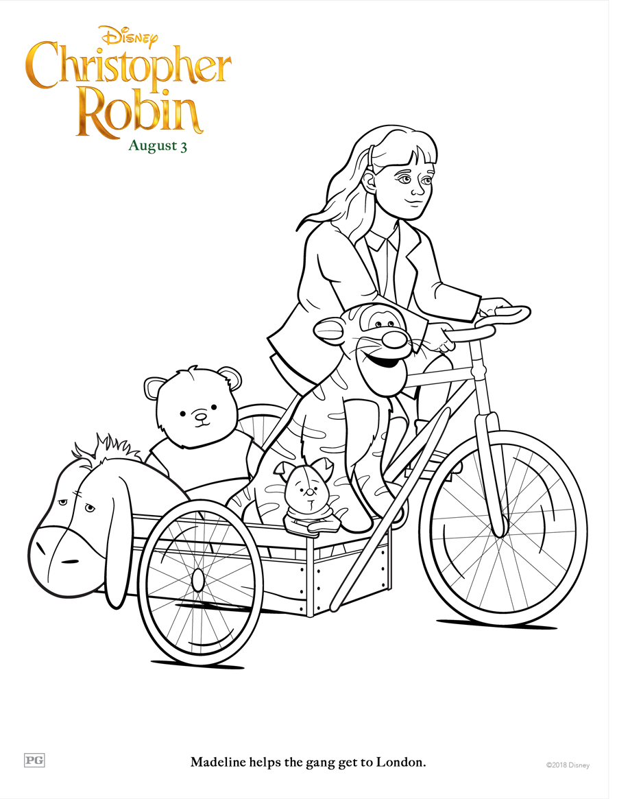 Christopher Robin Madeline Bicycle
