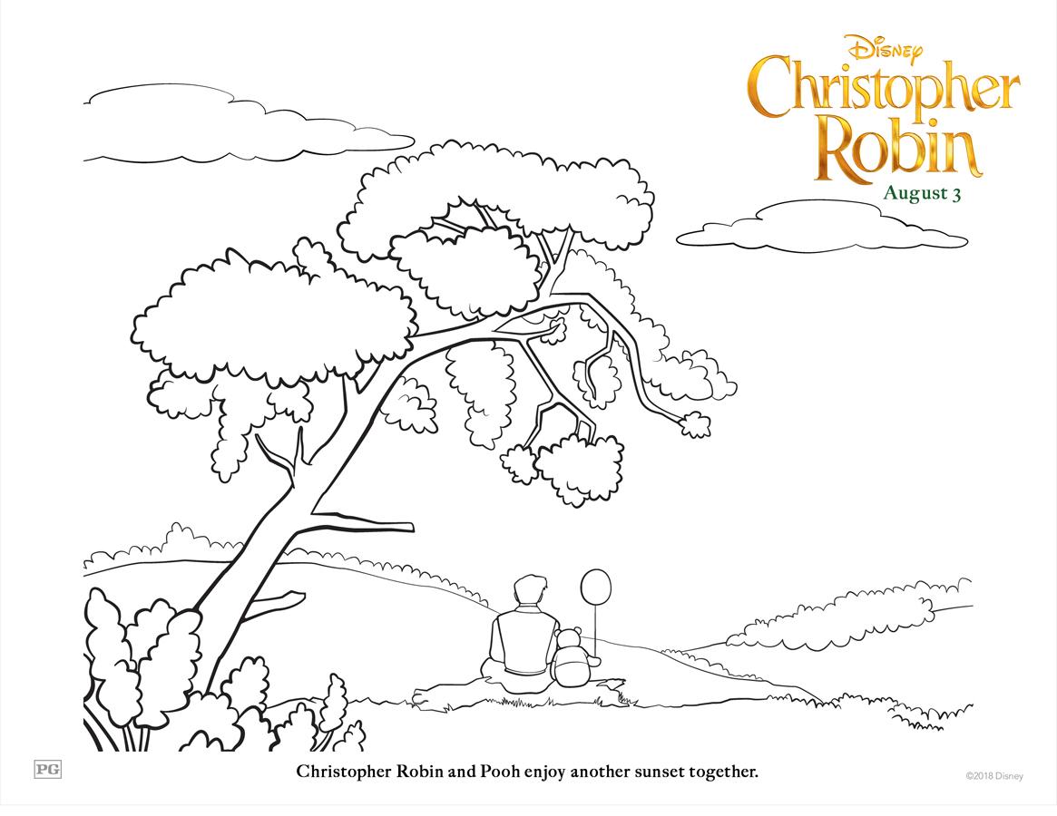 Christopher Robin Sunset