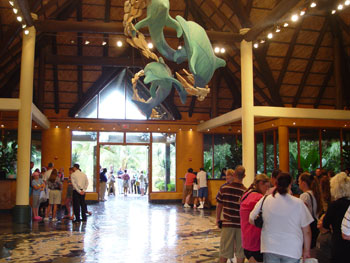 Discovery Cove Lobby