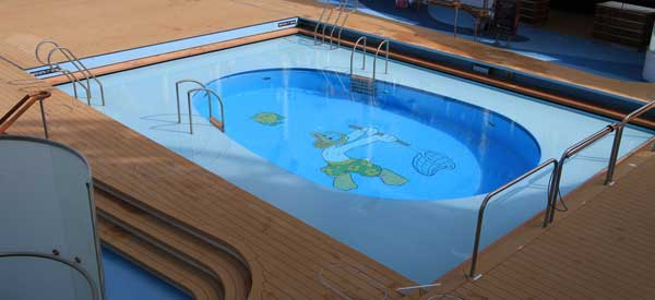 Disney Cruise Line Pools And Fitness Centers, Recreational