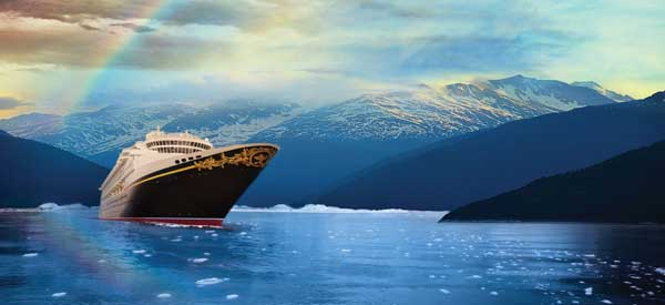 Disney Cruise To Alaska Alaska Disney Cruise Itineraries