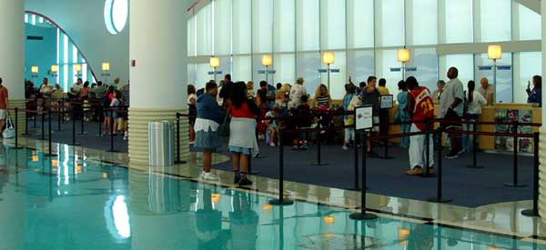 Disney Cruise Line Check In Process Port Canaveral Transportation