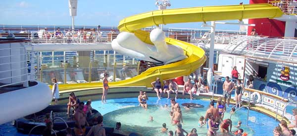 Disney Cruise Line mickey Pool
