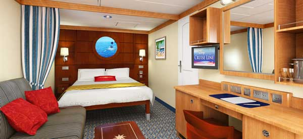 Disney Cruise Line Staterooms DCL Stateroom Categories And - Rooms on cruise ships