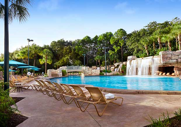 Disney World Swan and Dolphin Recreation and Pools