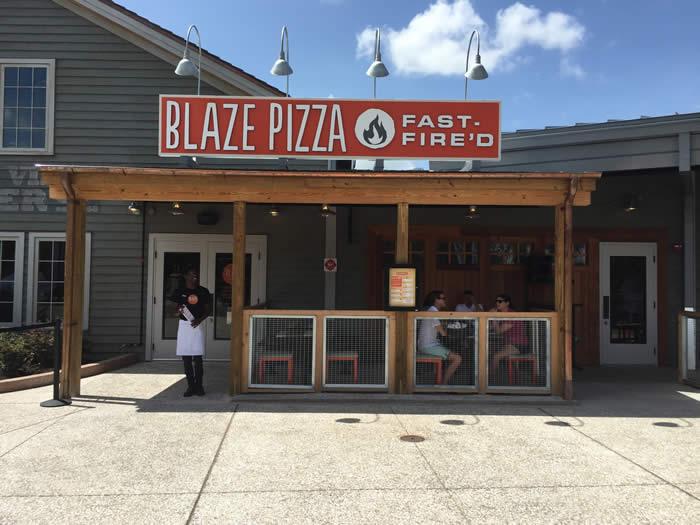 Blaze Fast-Fire'd Pizza Disney Springs