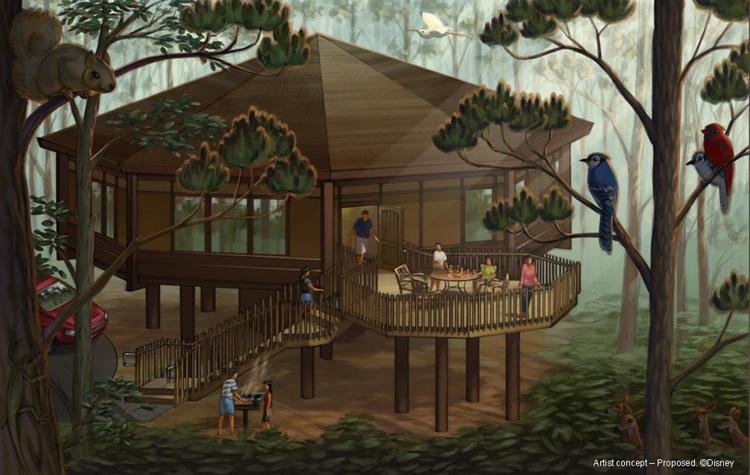The Treehouse Villas At Disney S Saratoga Springs Resort Spa