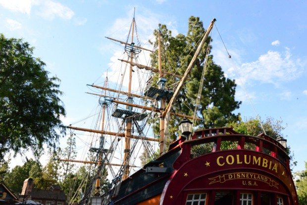 Frontierland  Sailing Ship Columbia
