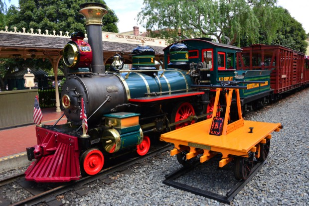 Disneyland Railroad New Orleans Square
