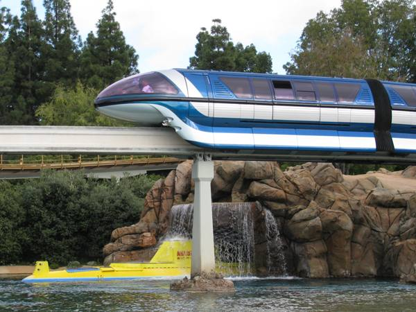 Disneyland Monorail Tomorrowland