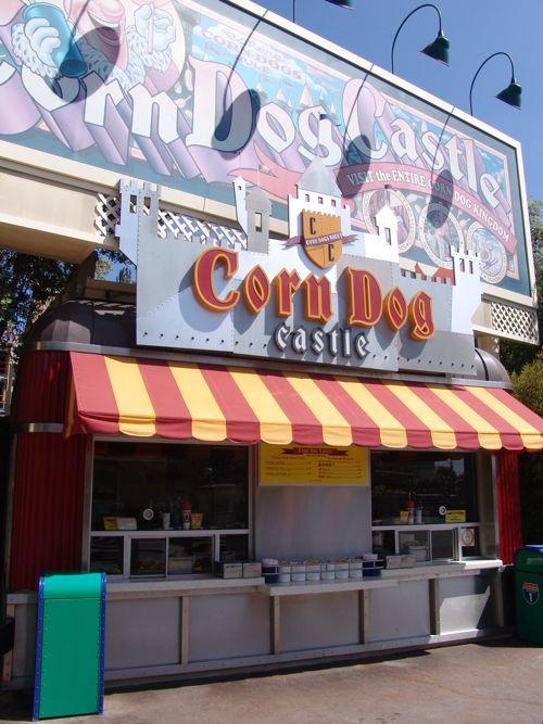 disneyland california castle. Corn Dog Castle, Disneyland