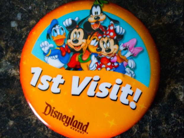 Disneyland Special Occasion Buttons