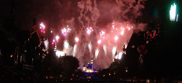 Disneyland Magical Fireworks