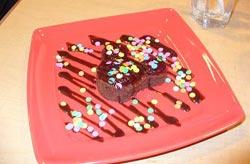 PCH Grill Birthday Dessert