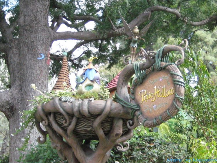 Disneyland Pixie Hollow Photos