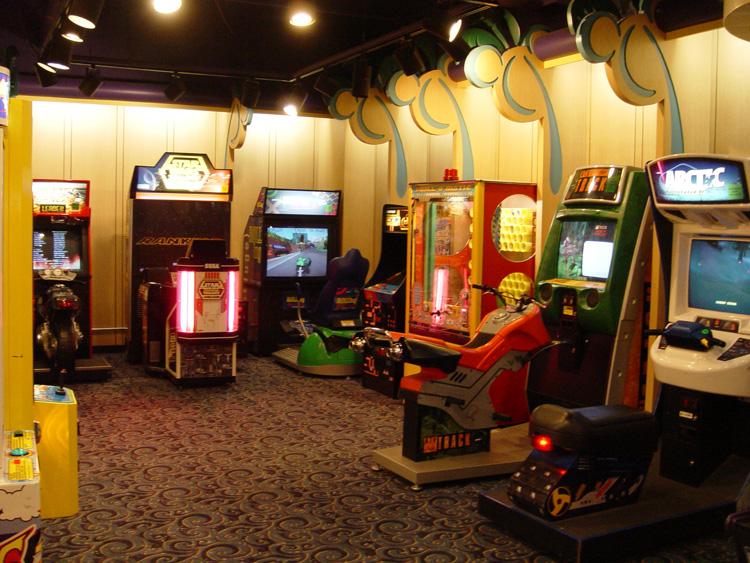 Paradise Pier Hotel Gameroom