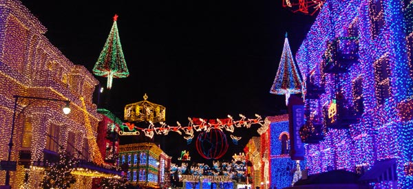 osborne family lights at mgm studios - When Does Disneyworld Decorate For Christmas