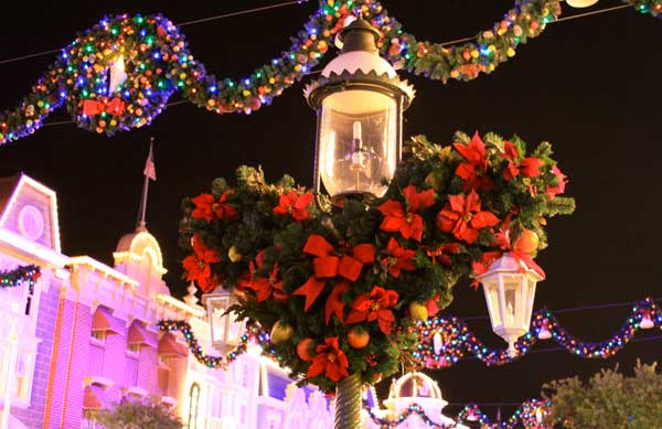 christmas day at walt disney world it all starts with picking the right park to visit continue through the page break and lets examine the best park - When Is Disney Decorated For Christmas