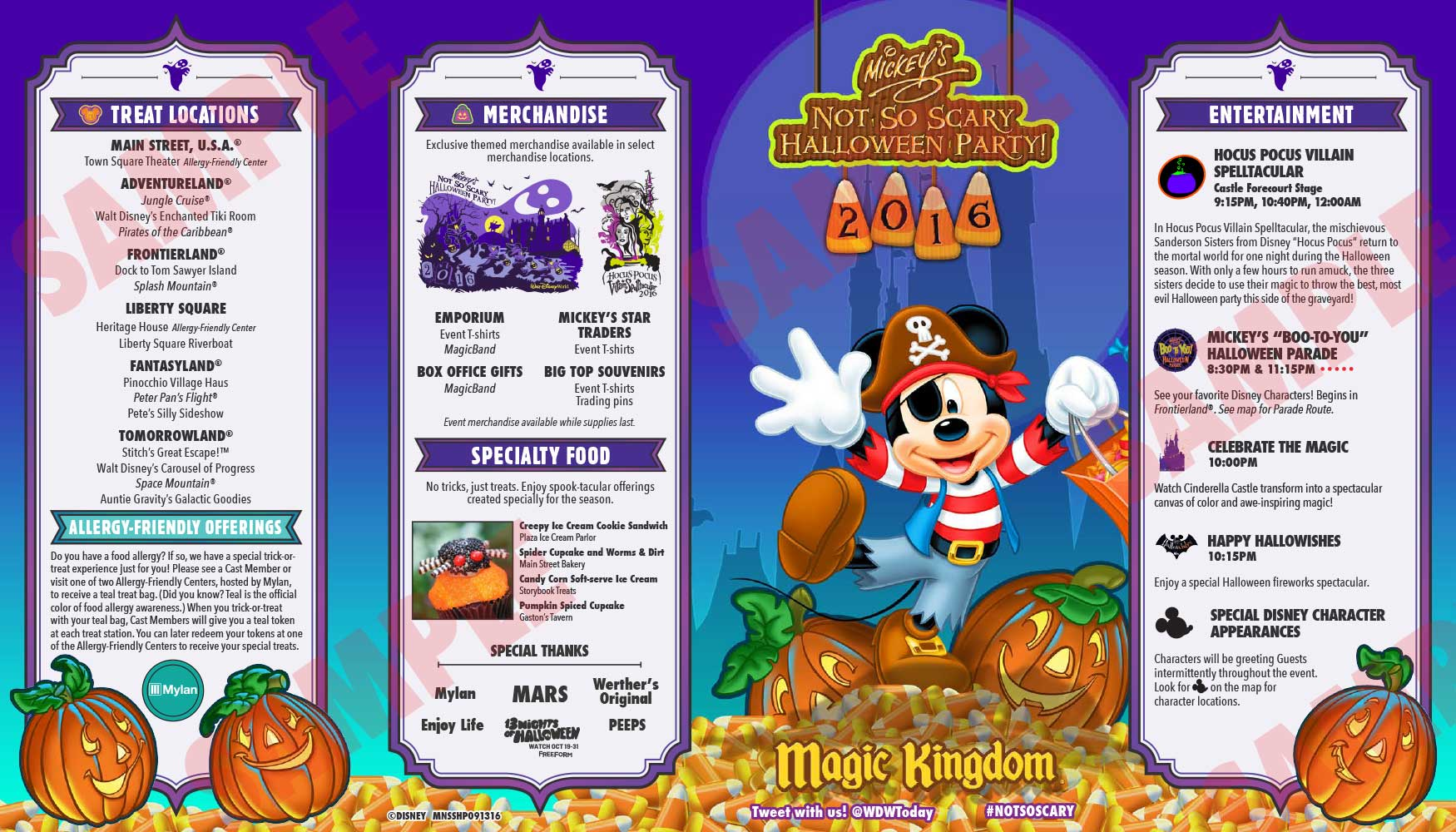 Halloween Disneyland Dates