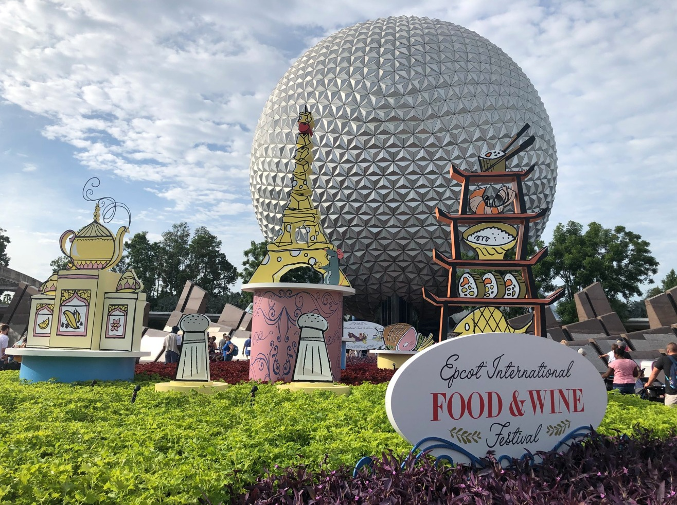 Disneyland Food And Wine Festival Menu