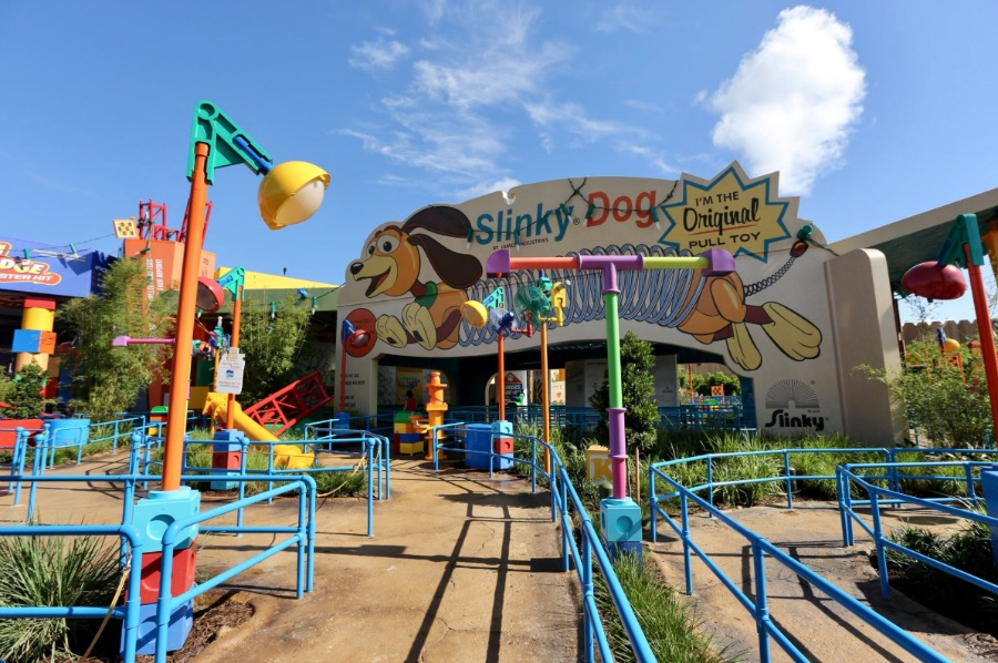 Slinky Dog Dash Disney S Hollywood Studios