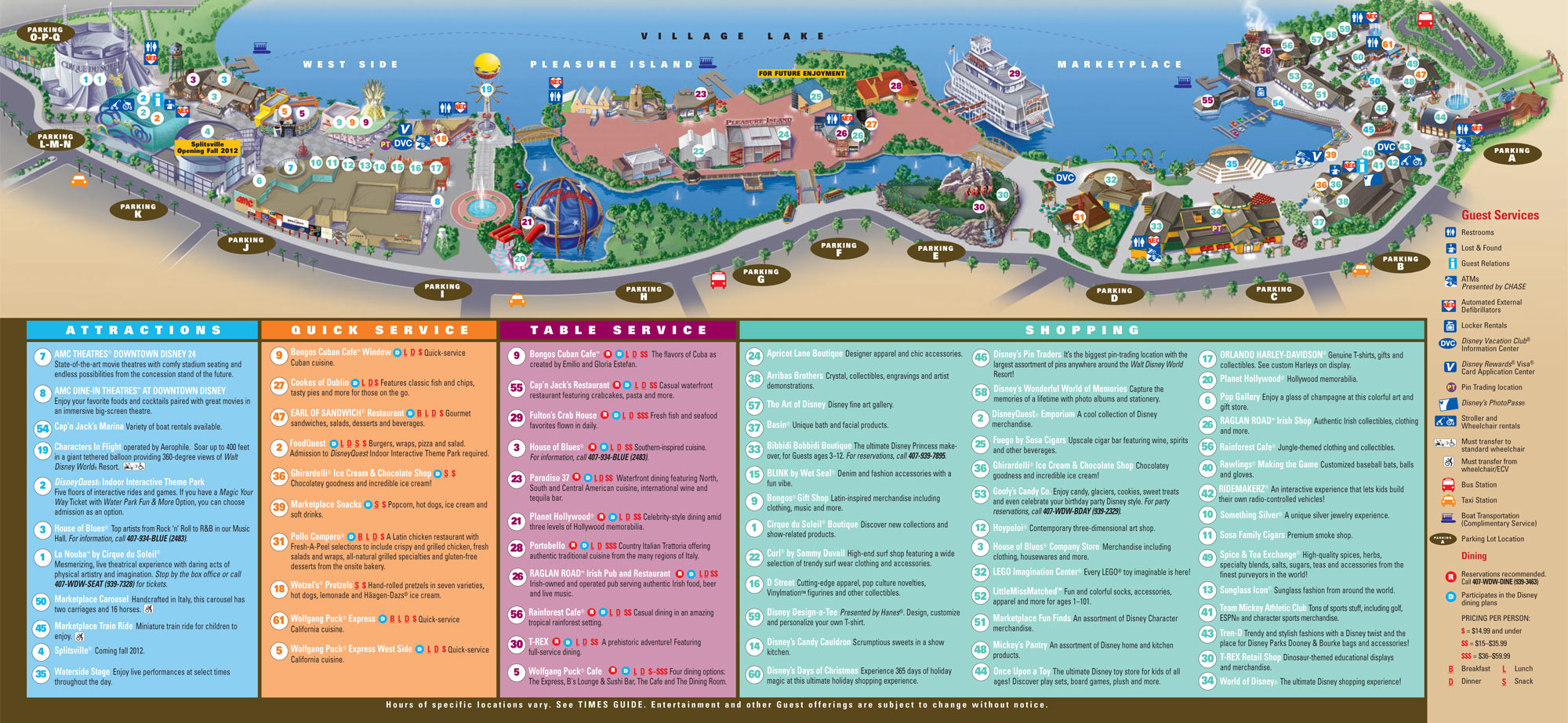 walt disney world theme park guides magic kingdom park epcot disney s ...