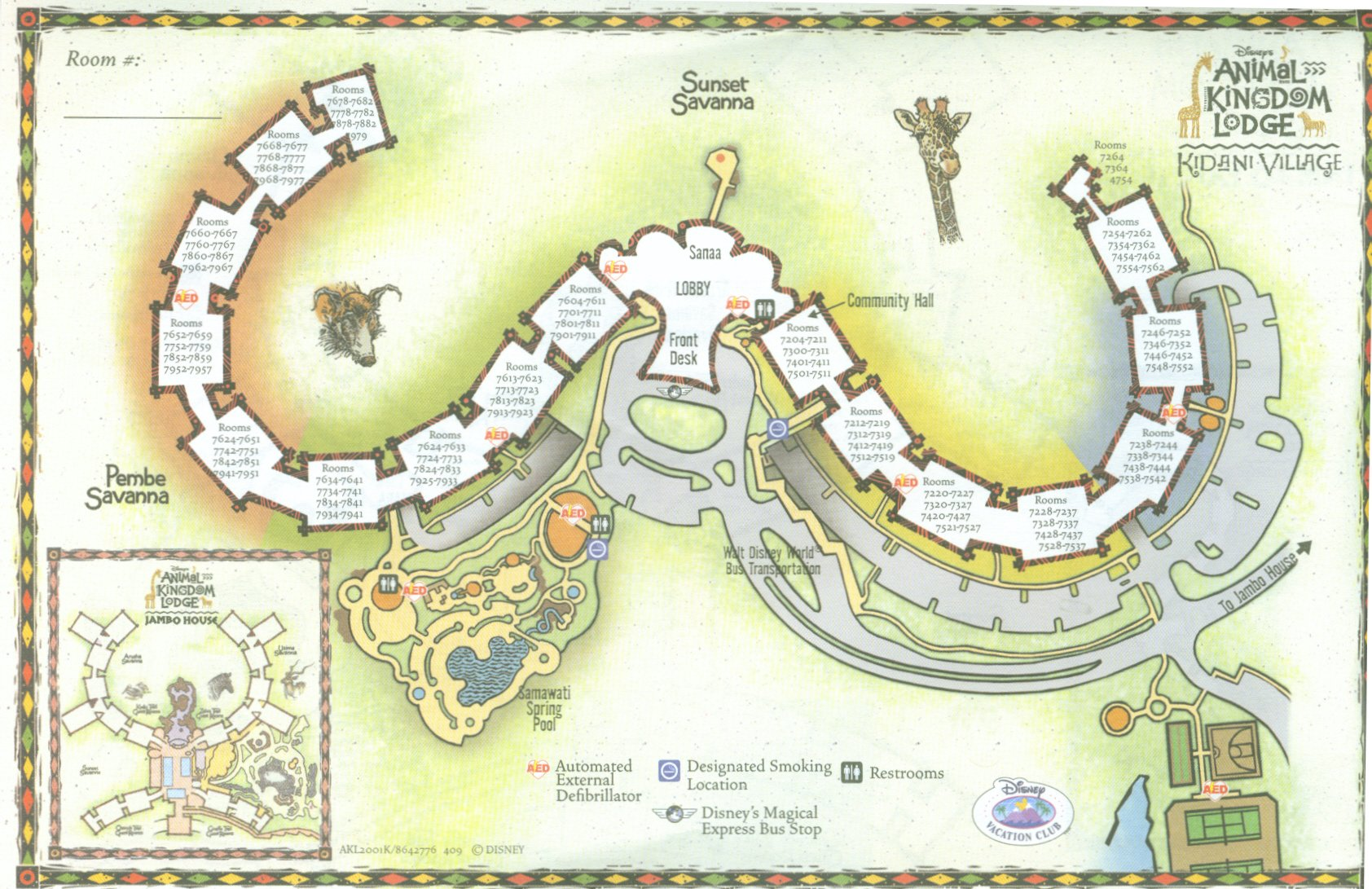 Animal Kingdom Lodge Villas at Walt Disney World Resort - wdwinfo.com