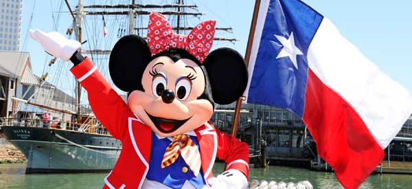 Galveston Texas Disney Cruise Disney Cruise Sailing Out