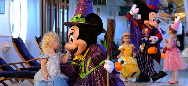 Halloween on the Disney Cruise Line