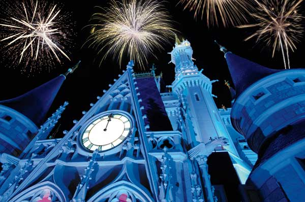 If you plan on visiting a Walt Disney World theme park on New Year's